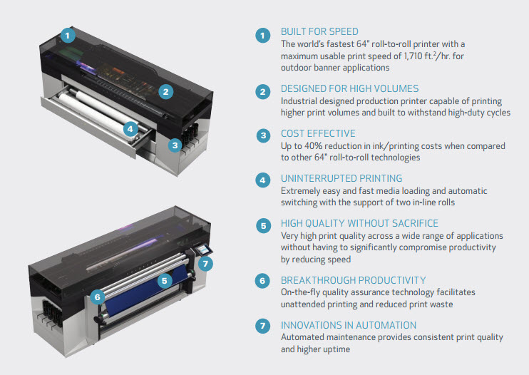 Oce Colorado 1460 Uv Gel Printer By Canon
