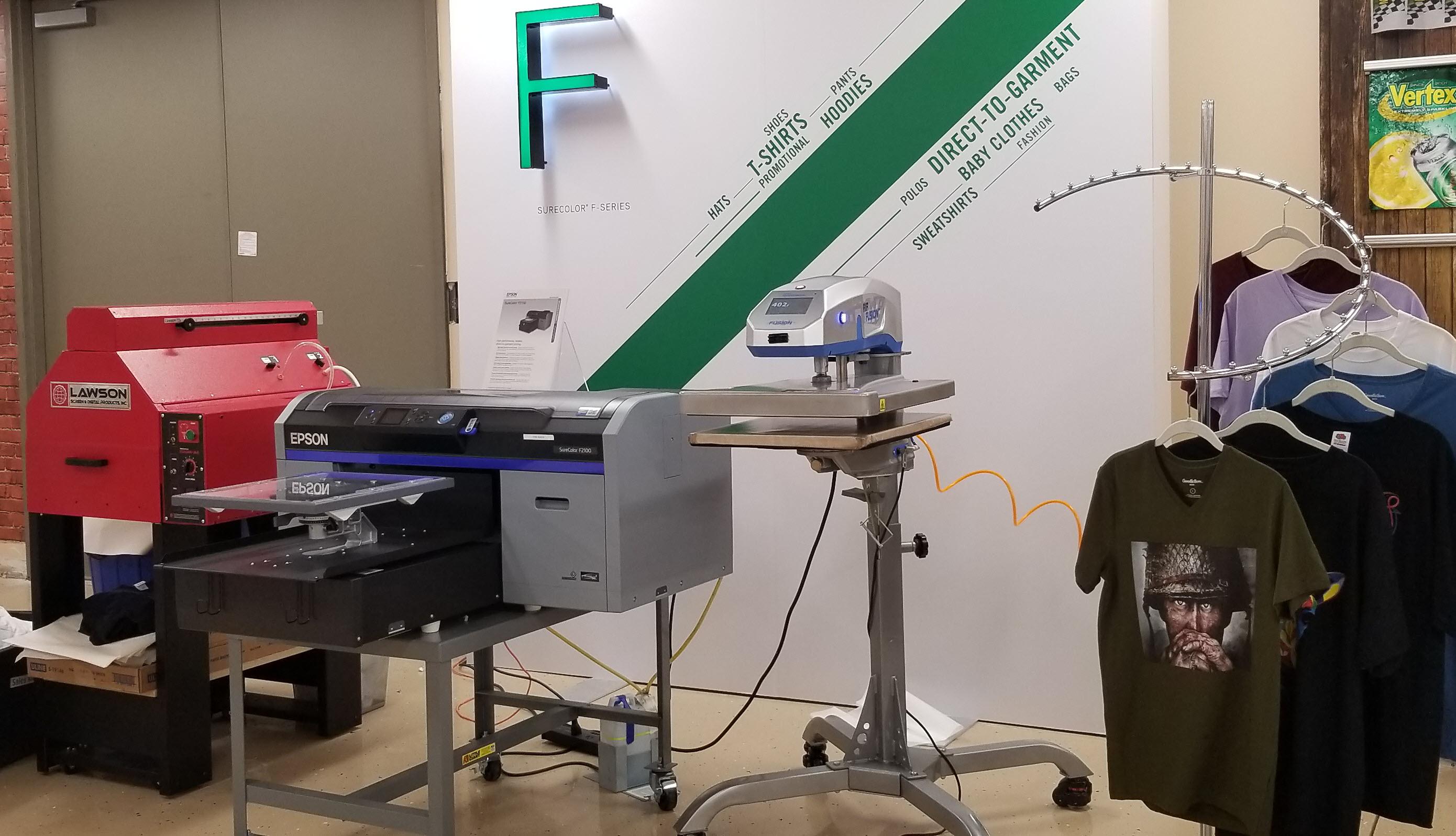 0b1e7f57e Epson SureColor F2100 W DTG Direct to Garment Printer for Darker and ...