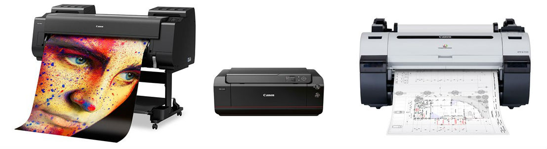 Canon Professional Wide Format Printers And Plotters