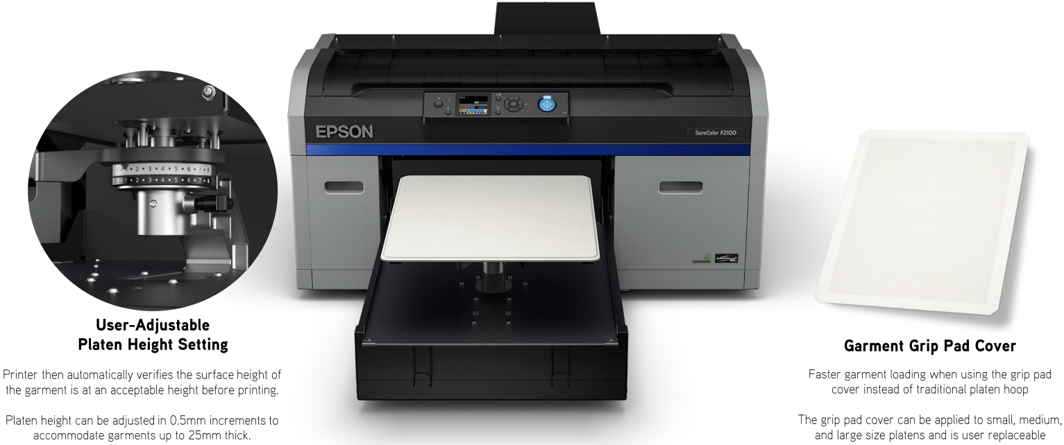 19f34301f This DTG T-Shirt Printer prints remarkably fast, allowing you to save time  and money on your day to day operation.